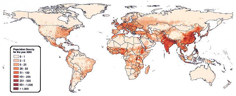Mapping Global Urban And Rural Population Distributions