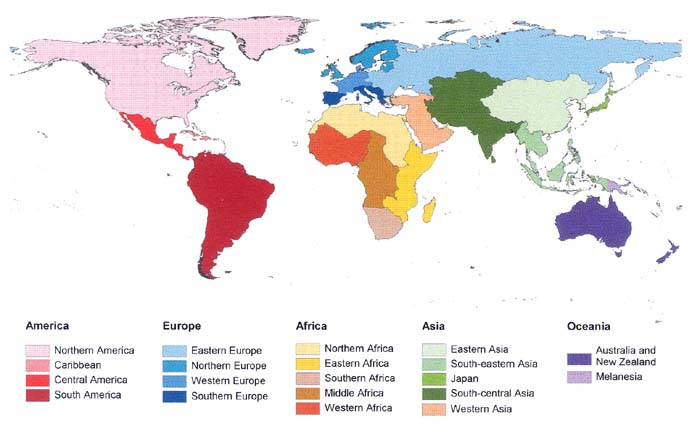 Map Of Asia Un.Mapping Global Urban And Rural Population Distributions