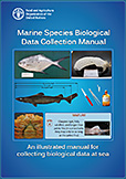 Marine species biological data collection manual