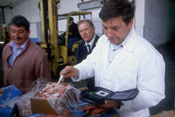 Quality control of fish products is also an essential public function