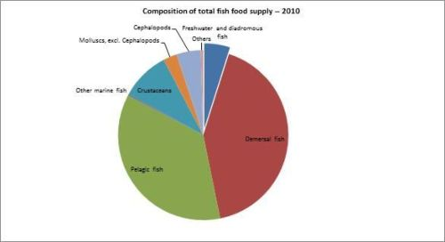 Figure 12 — New Zealand — Composition of total fish food supply – 2009