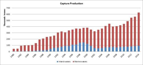 Figure 3 — Iran — Capture production