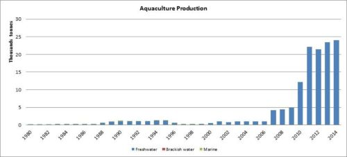 Figure 6 — Kenya— Aquaculture production