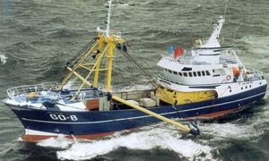 Example of a big sized beam trawler (Norway)