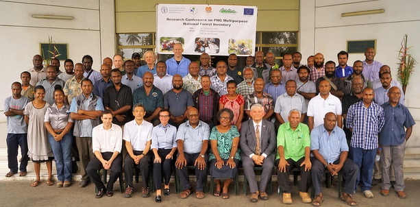 Around 80 forestry and biodiversity researchers attended the conference on 14-20 February 2018 in Lae, Papua New Guinea.