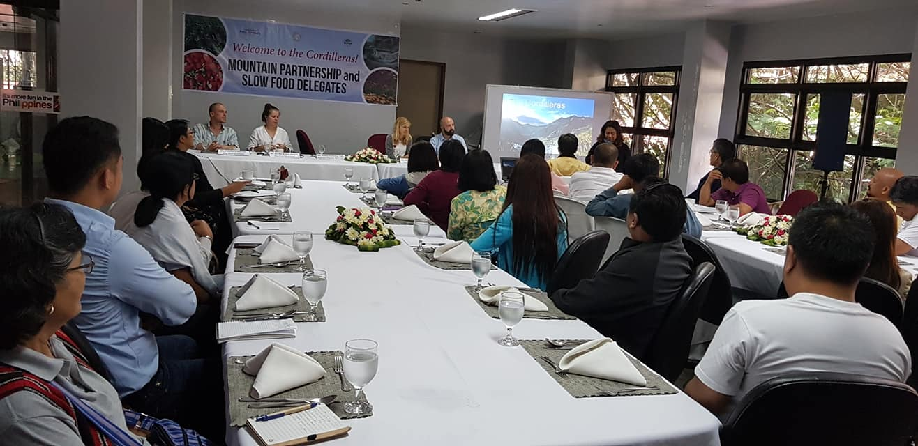 The Philippine Department of Tourism organized a stakeholder meeting.
