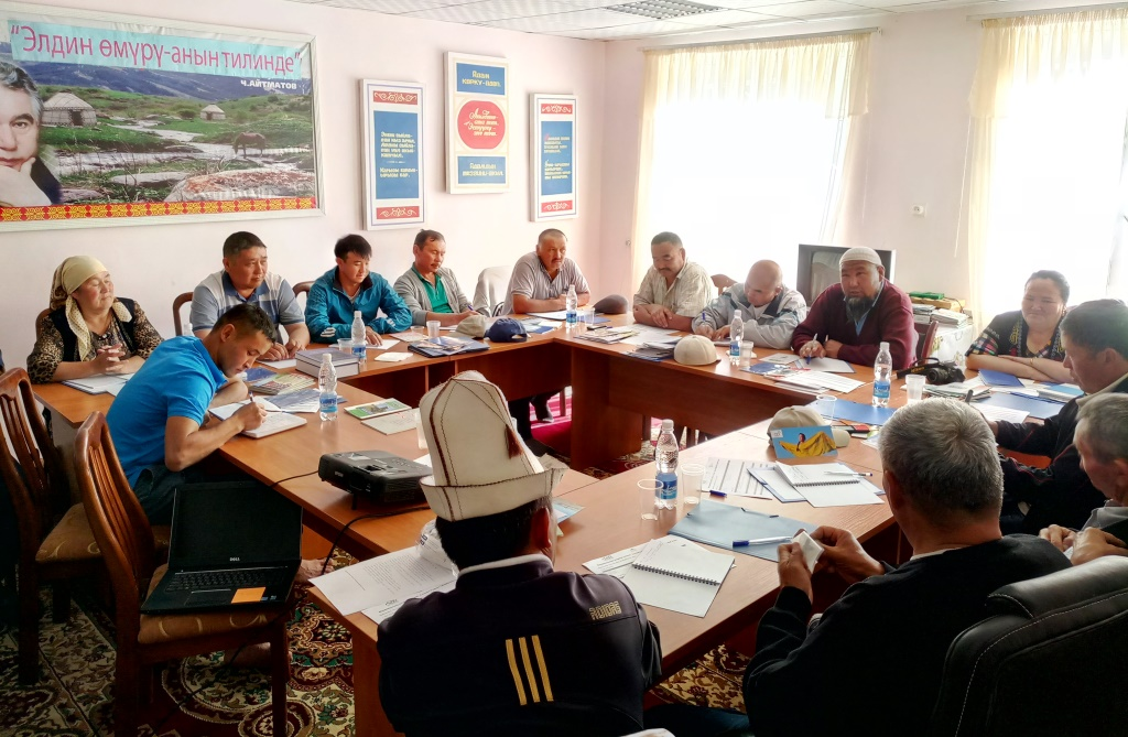 TPS members attend the annual meeting of the Alliance of Central Asian Mountain Communities