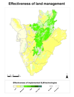 1b. Effectiveness of implemented SLM technologies