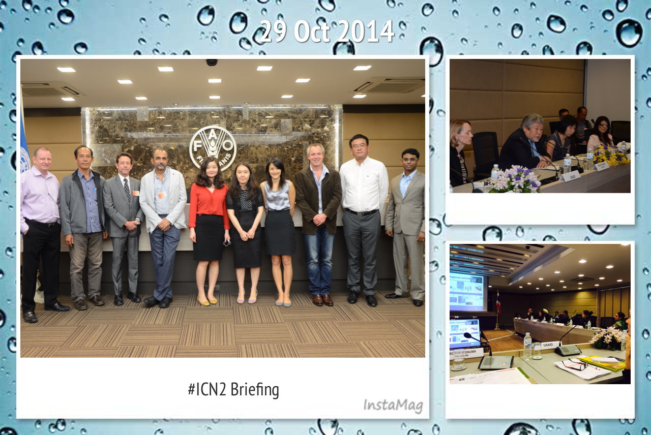 <b>International Journalists Participate in Asia-Pacific Briefing and Workshop on Nutrition and the Second International Conference on Nutrition (ICN2)</b></p>
