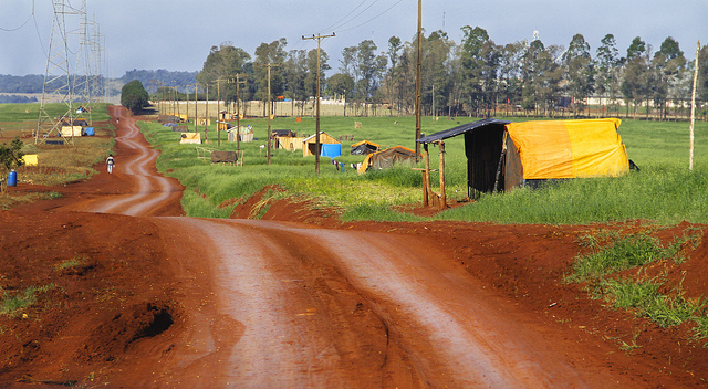 Rural areas in Paraguay