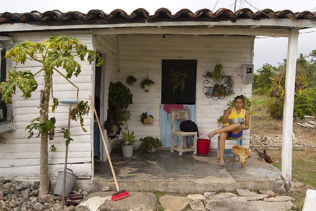 Campesino en Vega de Palma, Cuba