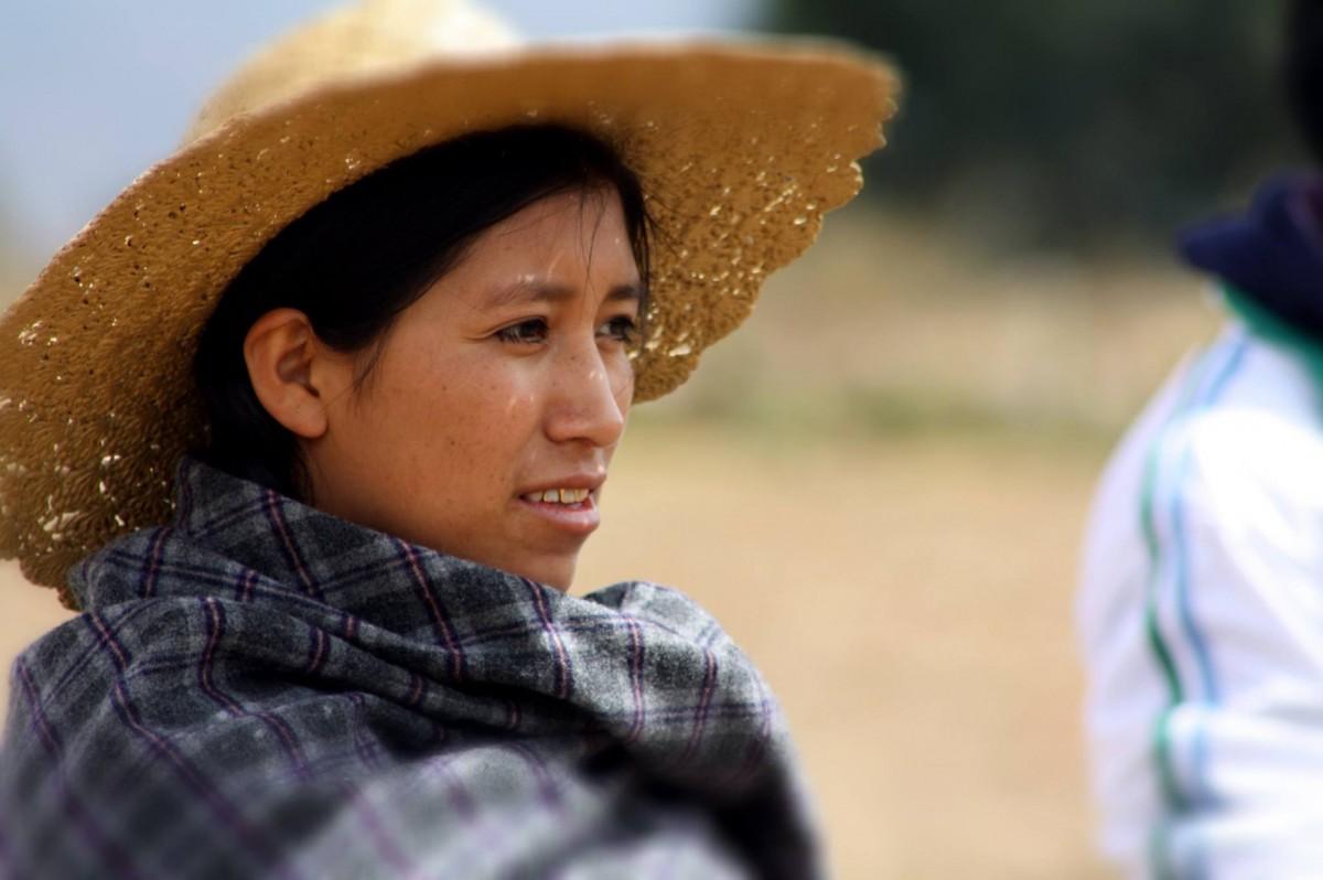 Mujer en Cochabamba, Bolivia