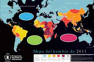 Mapa Del Hambre 2017.Onu Difunde Mapa Del Hambre En El Mundo Agronoticias Actualidad Agropecuaria De America Latina Y El Caribe Organizacion De Las Naciones Unidas Para La Alimentacion Y La Agricultura