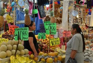 Market in Puebla, Mexico