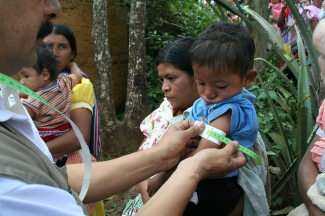Niño en Chiquimula, Guatemala