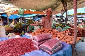 Mercado en Nicaragua