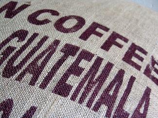 Saco de café guatemalteco