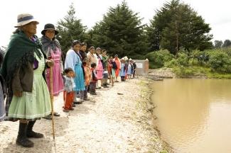 Indigenous Mexican women.