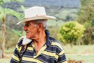Man in Santander, Colombia