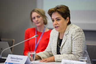 UN Climate Change Executive Secretary Patricia Espinosa