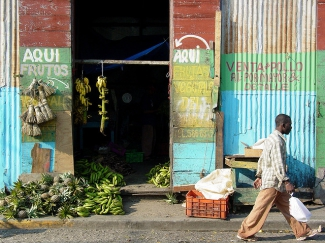 Pedestrian road - Puerto Plata - Dominican Republic