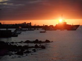 Atardecer en las Galápagos