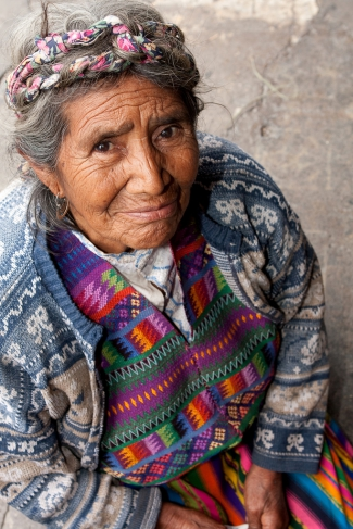 Woman in Antigua, Guatemala