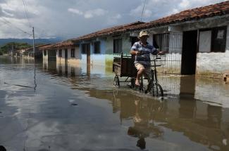 Inundaciones en La Victoria, Colombia, 2010
