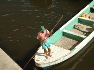 Fisherman in Belize