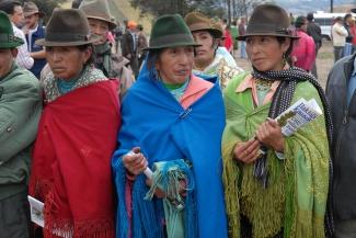 Ciudadanas de Zumbahua (Cotopaxi), Ecuador
