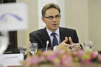 Jyrki Katainen, Vicepresidente de la Comisión Europea para Empleo, Crecimiento, Inversión y Competitividad