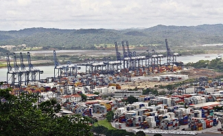 Puerto de Balboa in Panama