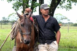 Campesino en Argentina