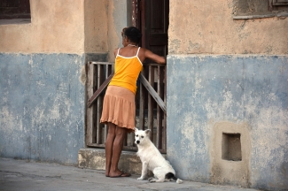 Mujer en Cuba