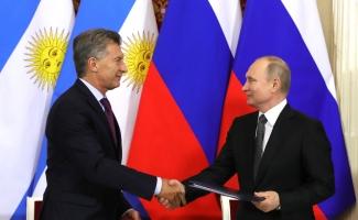 Encuentro entre Macri y Putin