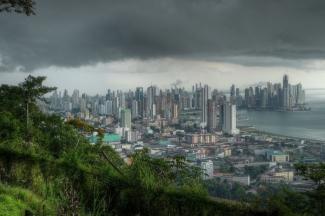Depresión tropical sobre la Ciudad de Panamá, Panamá  2009