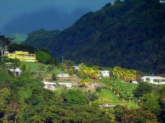 Dominica, Karibik - View Upper Kings Hill