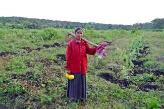 Mujer rural en India