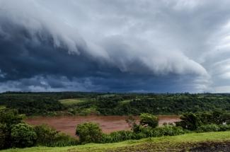 Landscape in Paraguay