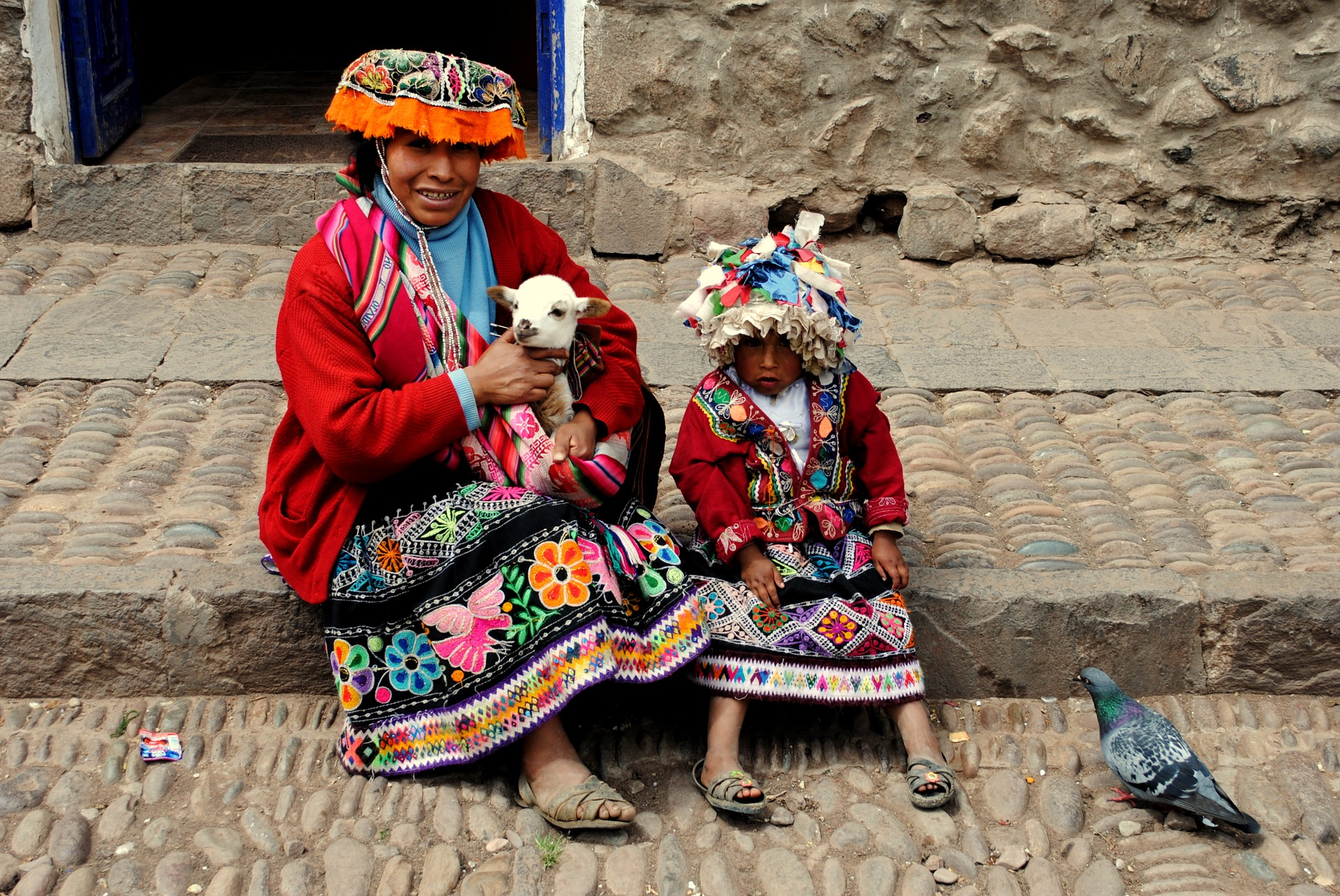 Indígenas en Peru