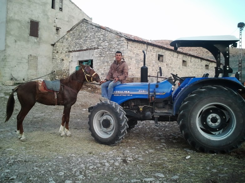 A tractor similar to those India has donated to Cuba