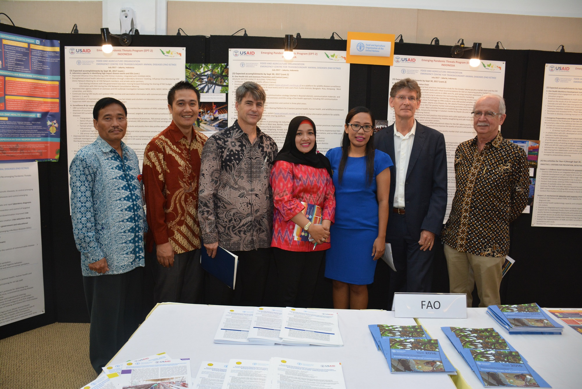 FAO ECTAD Indonesia Supports USAID and Indonesia's Ministry
