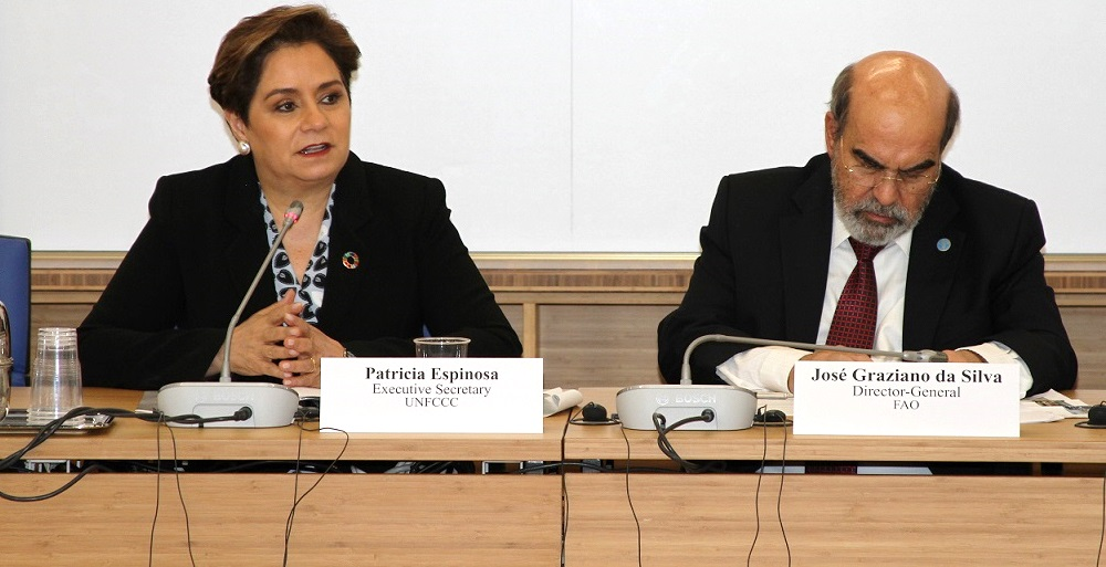 Partnerships on one agenda for climate action'