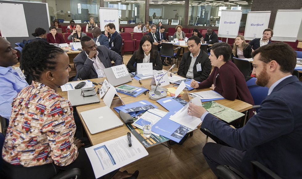 Nationally Determined Contributions Partnership workshop takes place at FAO Headquarters'