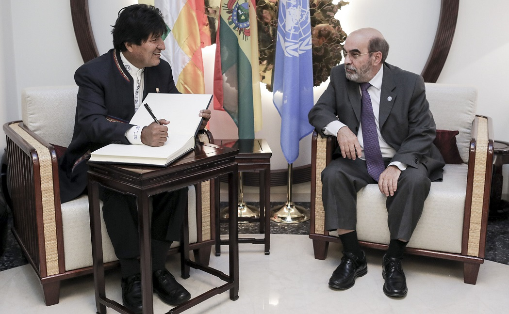 FAO supporting Bolivia's bid to access climate funding via UN fund'