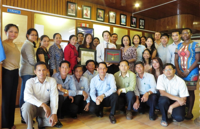 Royal Government of Cambodia honors FAO efforts on country natural resource protection'