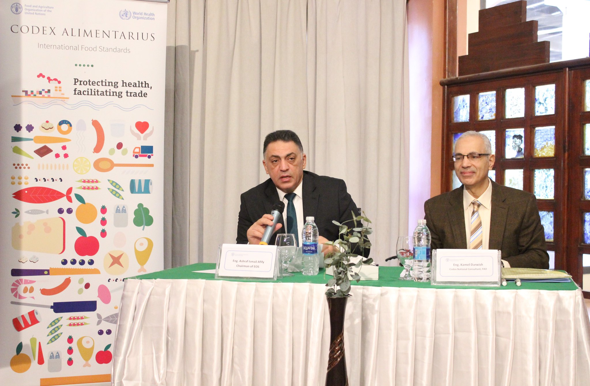 Fao And Eos Continue To Support The Codex System In Egypt Codexalimentarius