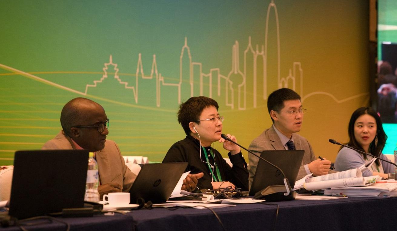 CCFA Chair Fan Yongxiang