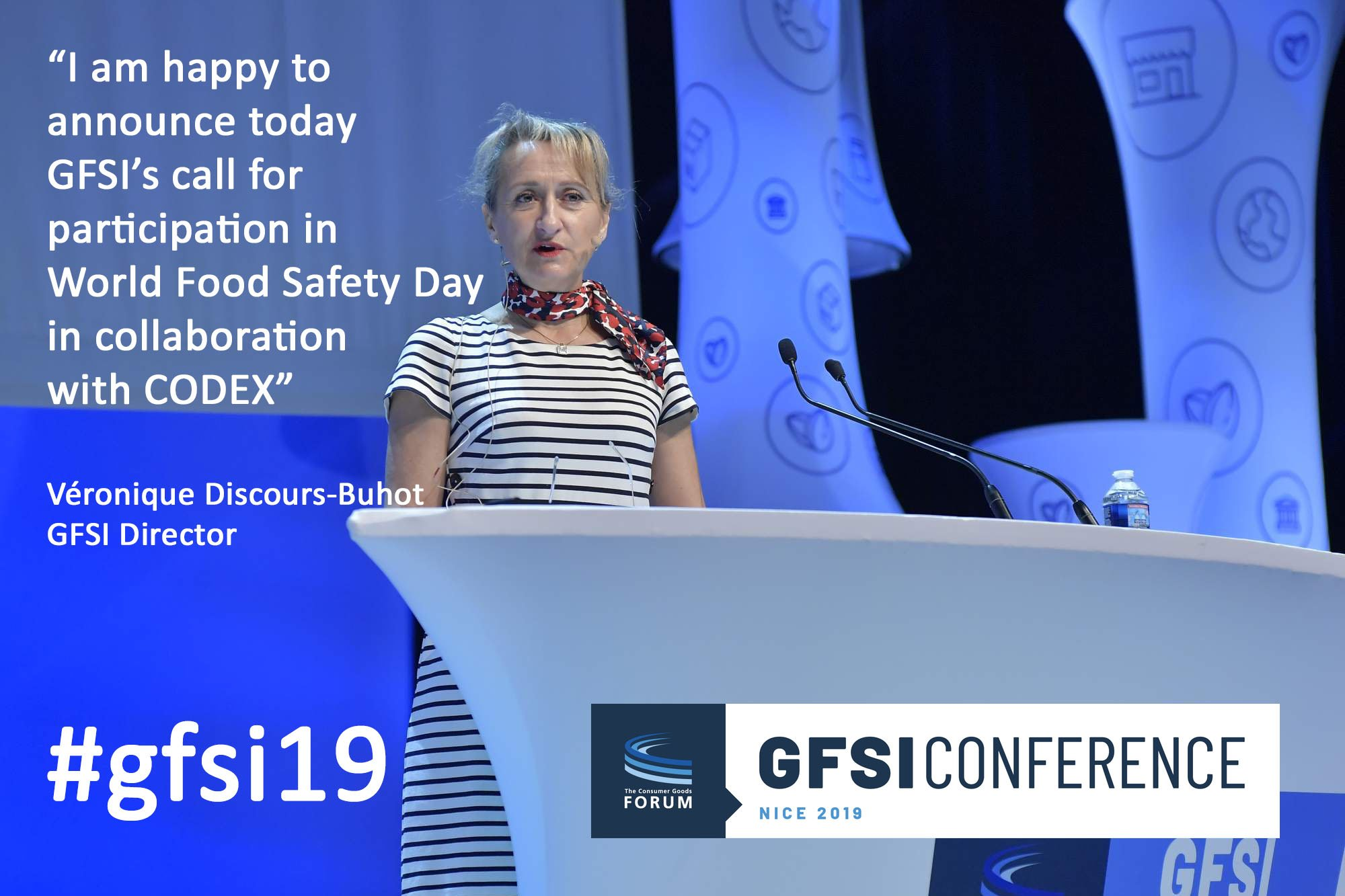 Food safety experts energized for first World Food Safety