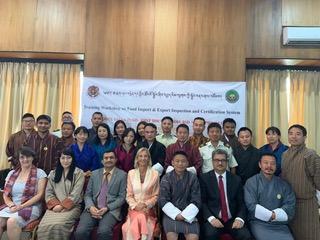 Workshop in Bhutan